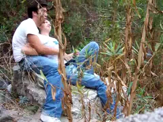 Chinese University Student Caught Making Love In The Bush